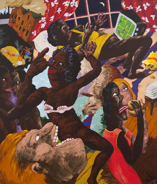 Robert Colescott (1925-2009) Pac-Man (The Consumer...