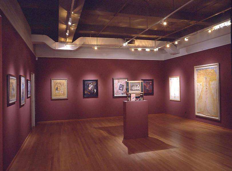 Installation Views - Betye Saar: Colored - Consider the Rainbow - September 12 – November 2, 2002 - Exhibitions