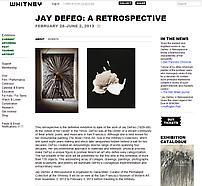 Jay DeFeo: A Retrospective (February 28-June 2, 20...