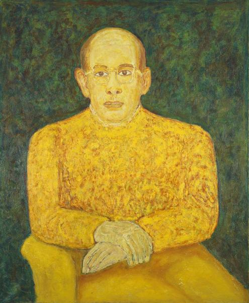 Beauford Delaney (1901-1979) Ahmed Bioud, 1964 oil...
