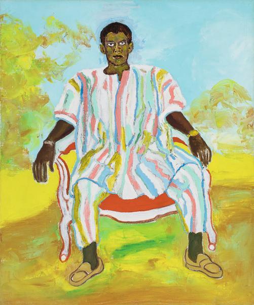 Beauford Delaney (1901-1979) Untitled (Man in Afri...