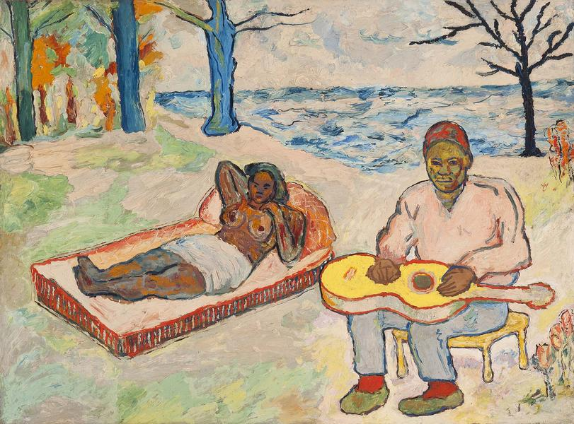 Beauford Delaney (1901-1979) Untitled (Self-Portra...