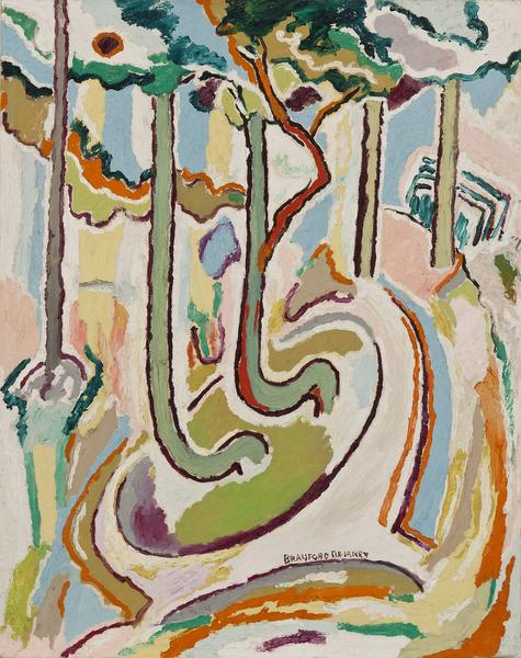 Beauford Delaney (1901-1979) Untitled (Trees), c.1...