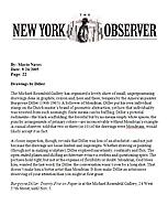 The New York Observer, September 26, 2005