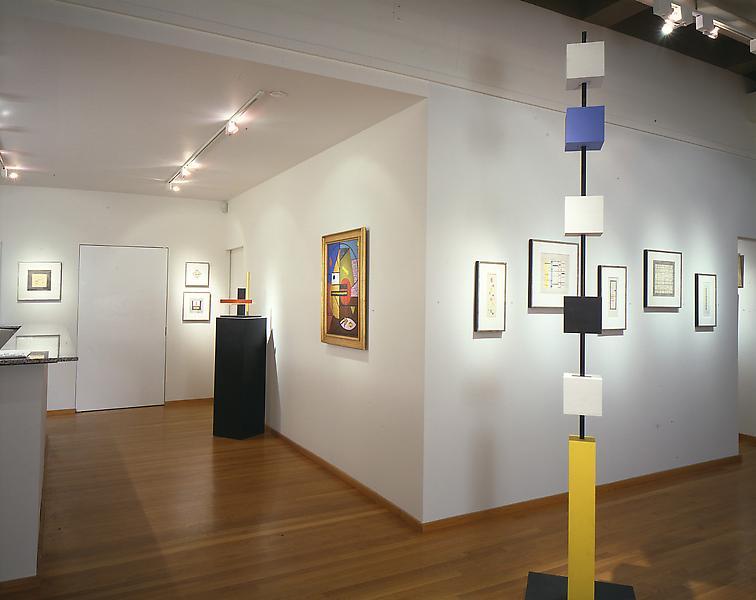 Installation Views - Burgoyne Diller: Pioneer of Abstraction - April 13 – June 3, 1995 - Exhibitions