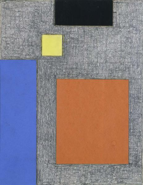 Burgoyne Diller (1906-1965) Second Theme, c.1961-6...