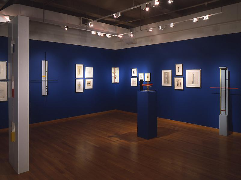 Installation Views - Burgoyne Diller: The Third Dimension, Sculpture & Drawings, 1930-1965 - November 13, 1997 – January 17, 1998 - Exhibitions