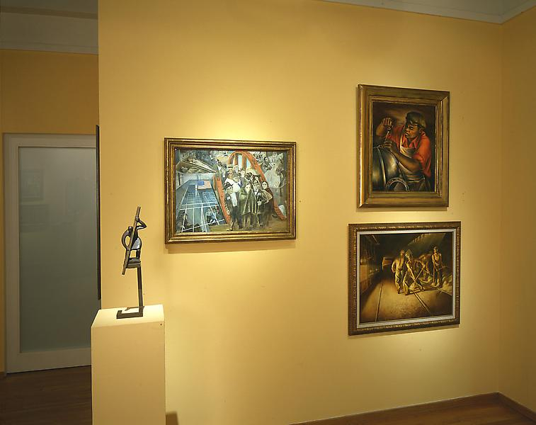 Installation Views - Facets of the Figure: A Spectrum of 20th Century American Art - June 5 – August 22, 1997 - Exhibitions