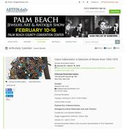 ArtFixDaily newsletter, January 28, 2016