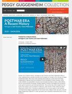 Peggy Guggenheim website for PostWar Era: A Recent...