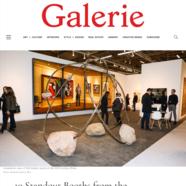 Galerie Magazine, March 7, 2019