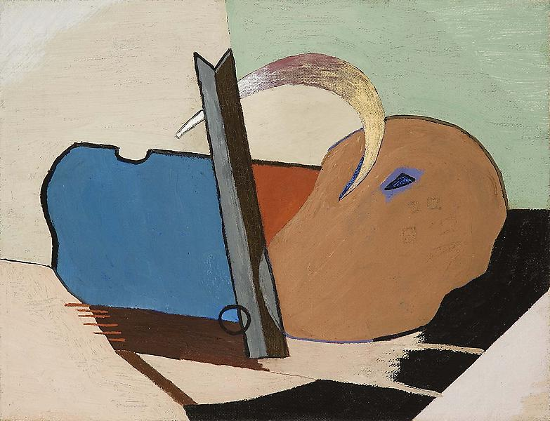 "Untitled, 1940 oil on canvas 8 1/8"" x 10 1/8&..."
