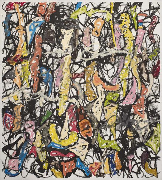 Michael Goldberg (1924-2007) Grotto in the Kingdom...