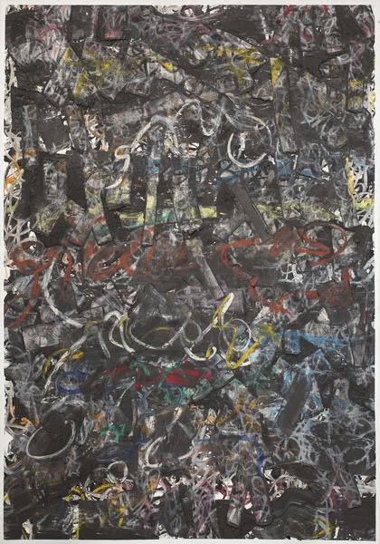 Michael Goldberg (1924-2007) Horns of Hymettos, 20...