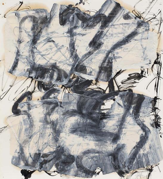 Michael Goldberg (1924-2007) Untitled (10/02-DWG),...