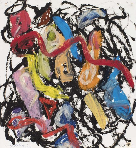 Michael Goldberg (1924-2007) Untitled (15/02-DWG),...