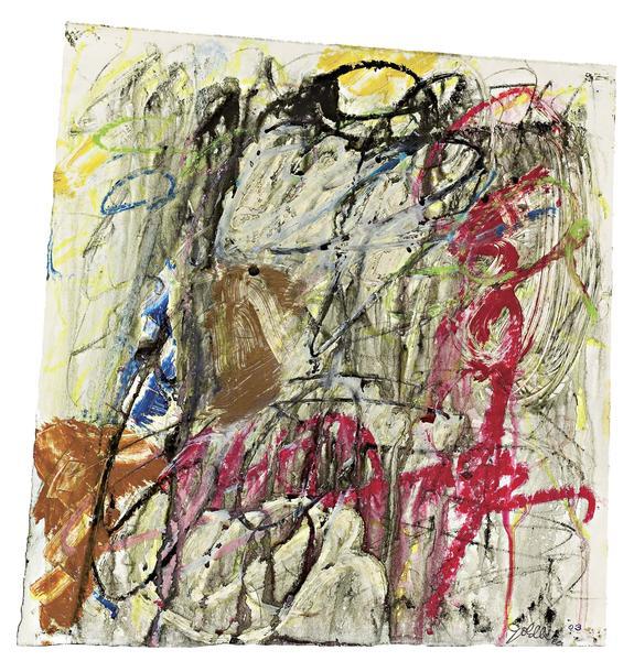Michael Goldberg (1924-2007) Untitled (1/03-DWG),...