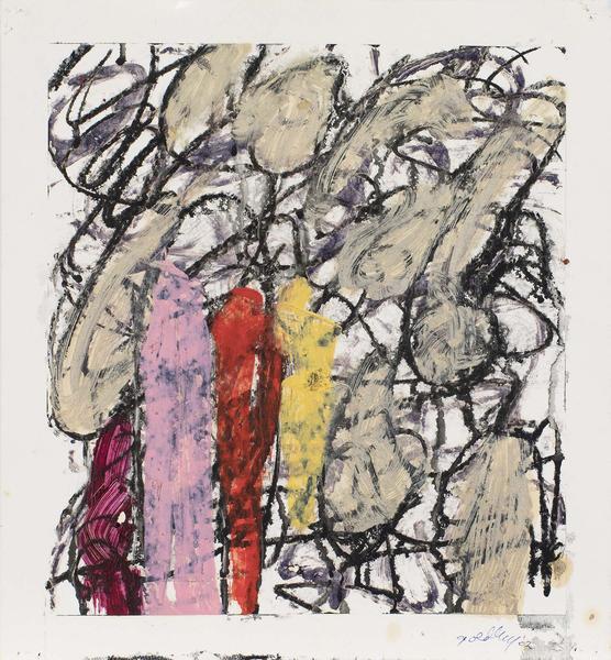 Michael Goldberg (1924-2007) Untitled (20/02-DWG),...