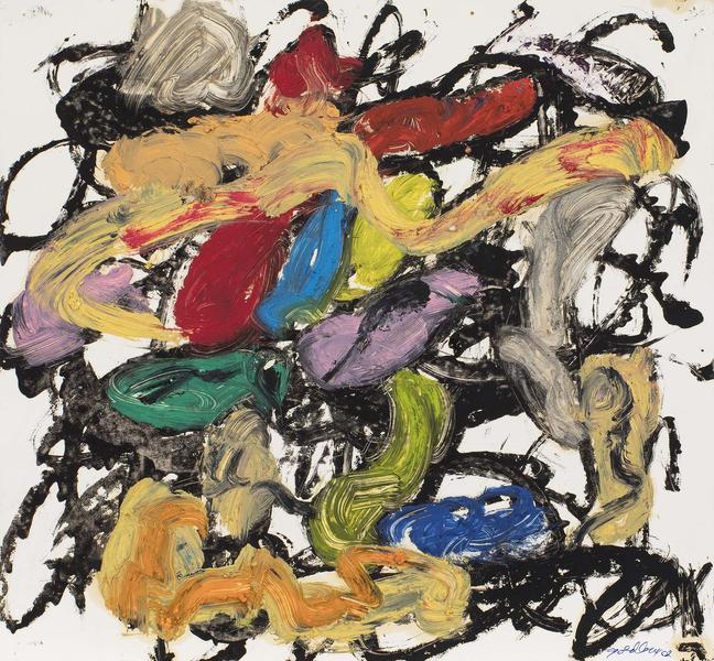 Michael Goldberg (1924-2007) Untitled (21/02-DWG),...