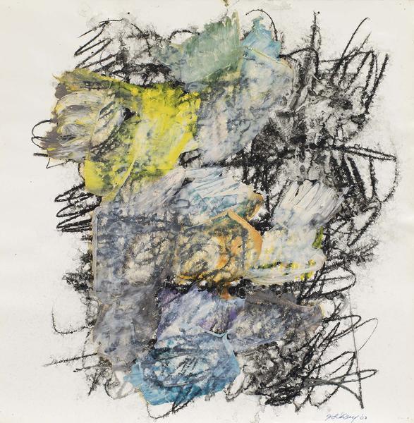 Michael Goldberg (1924-2007) Untitled (30/03-DWG),...