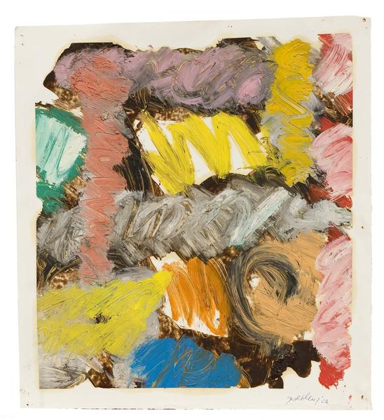 Michael Goldberg (1924-2007) Untitled (3/02-DWG),...