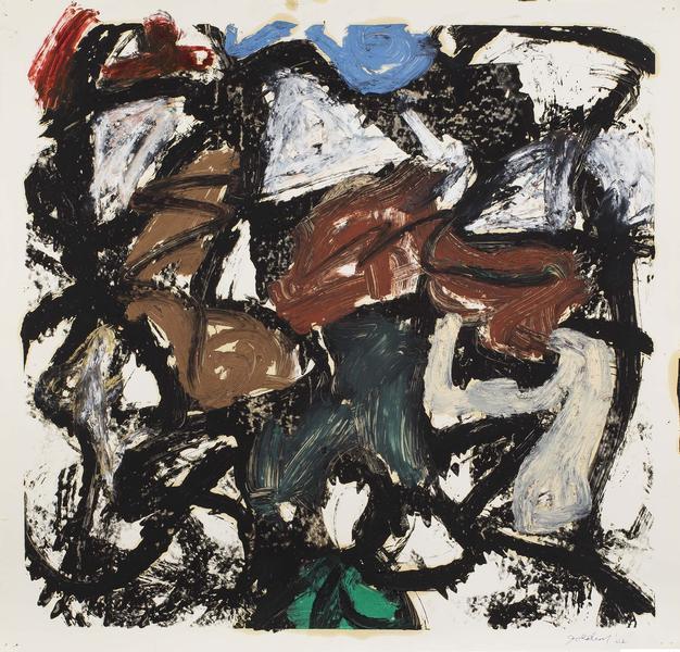 Michael Goldberg (1924-2007) Untitled (44/02-DWG),...