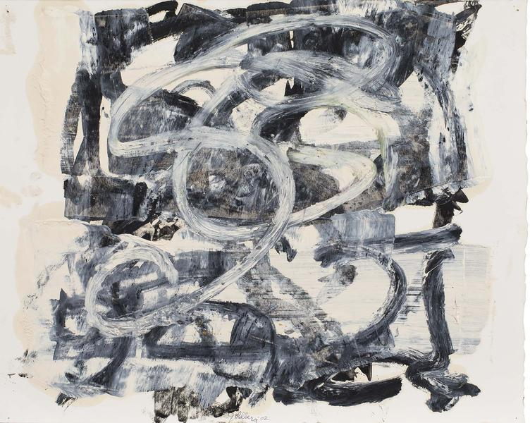 Michael Goldberg (1924-2007) Untitled (51/02-DWG),...