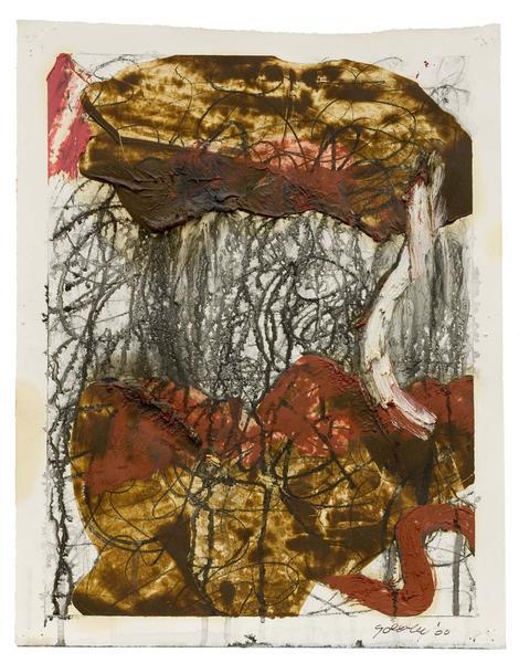 Michael Goldberg (1924-2007) Untitled (6/00-DWG),...