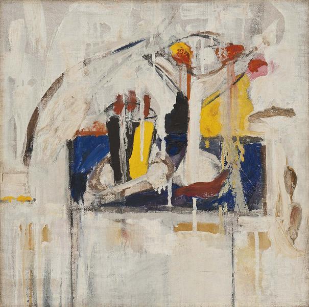Michael Goldberg (1924-2007) Untitled, 1952 oil on...