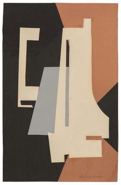 Gertrude Greene (1904-1956) 37X1, 1937 cut paper c...
