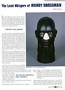 NY Arts, December 2000