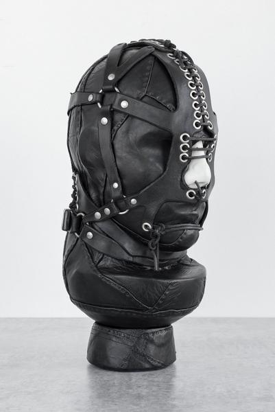 Nancy Grossman (b.1940) ZOF, 1968 leather, wood, p...