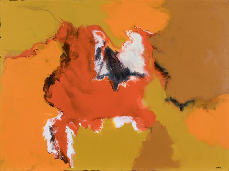 David Hammons (b.1943) Untitled, c.1969 enamel on...