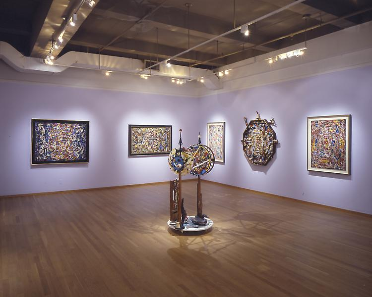 Installation Views - Alfonso Ossorio: Horror Vacui, Filling the Void - A Fifty-Year Survey - May 9 – August 2, 2002 - Exhibitions