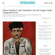 Hyperallergic, December 4, 2018