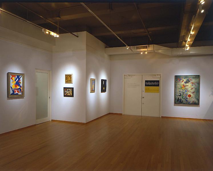 Installation Views - Breaking Boundaries: American Abstract Art, 1930 - 1945 - September 10 – October 30, 2004 - Exhibitions