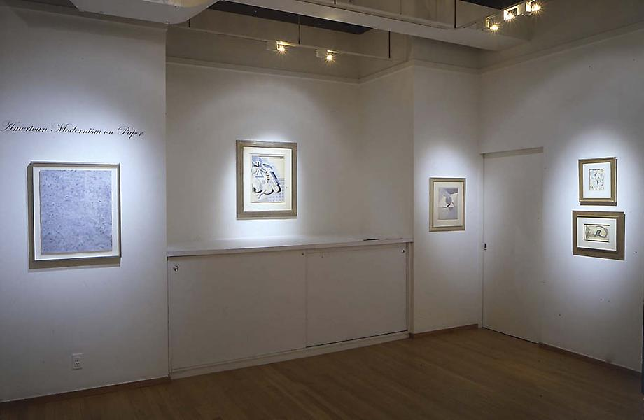 American Modernism on Paper - Exhibitions
