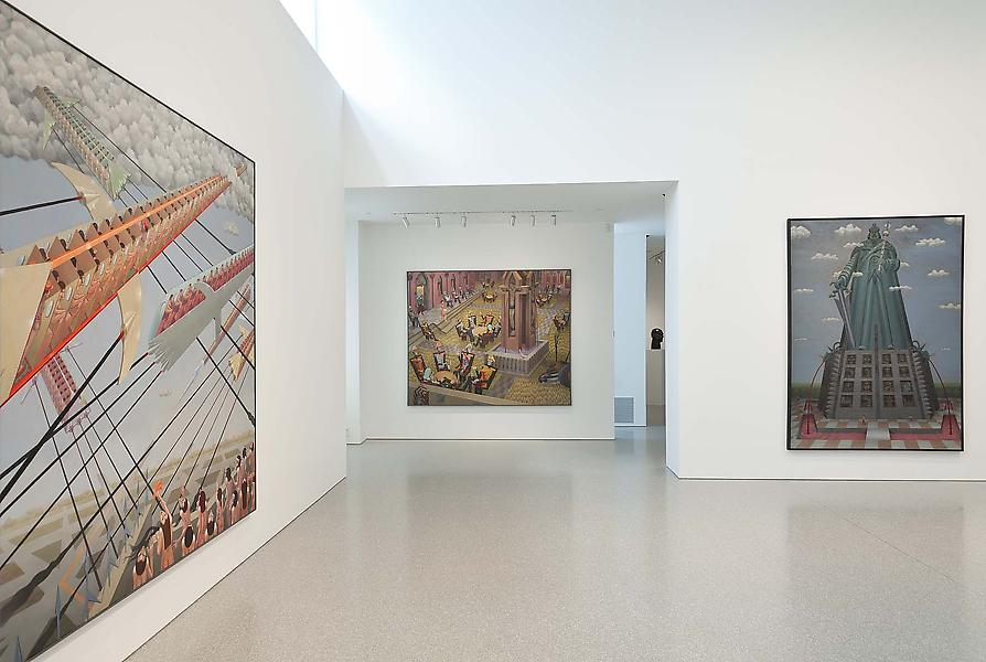 Installation Views - Irving Norman: War & Peace Monumental Paintings, 1969-1986 - September 6 – October 25, 2014 - Exhibitions
