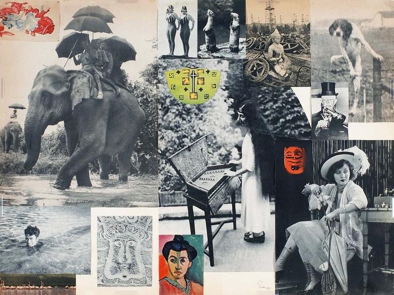 Jess (1923-2004) Untitled (with Wanda Landowska),...