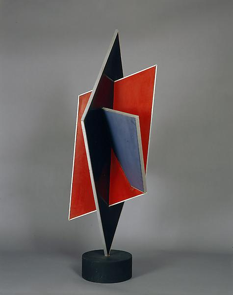 Construction, 1928-35 painted wood construction 43...