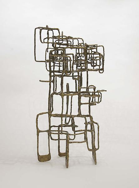 "Spaceloom XXIX, 1973 welded bronze 23 1/2"" x 12"" x..."