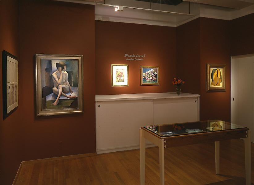 Installation Views - Blanche Lazzell: American Modernist - September 3 – October 28, 2000 - Exhibitions