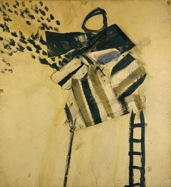 Alfred Leslie (b.1927) Hoboken Collage, 1953-54 co...