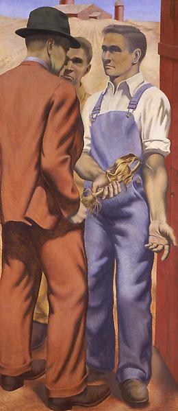 "Dustbowl aka ""Farm Crisis"", 1939 egg tem..."