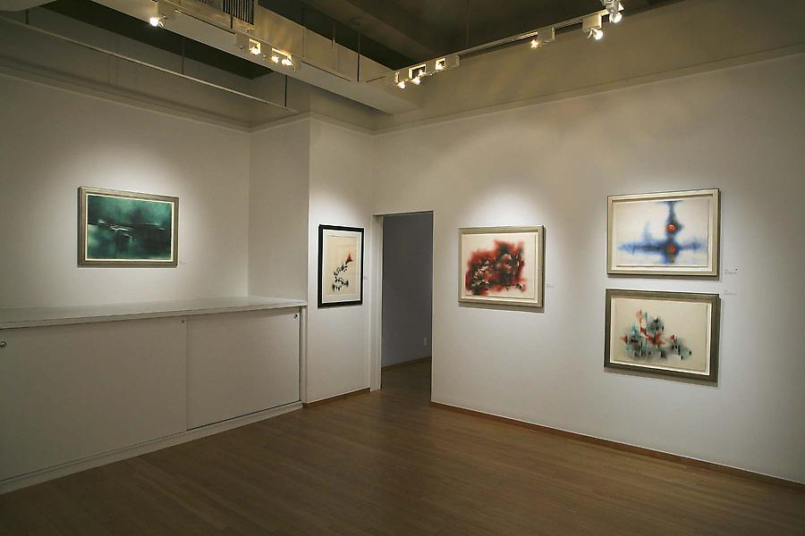 Installation Views - Norman Lewis: Abstract Expressionist Drawings, 1945-1978 - January 10 – March 7, 2009 - Exhibitions
