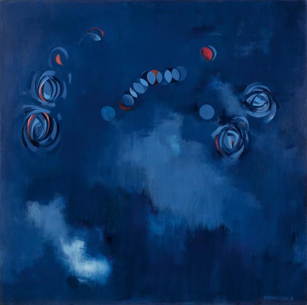 """Celestial Majesty, 1976 oil on canvas 60"""" x 6..."""