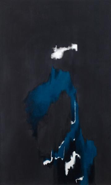 """No. 6, 1973 oil on canvas 80 """" x 47 5/8""""..."""