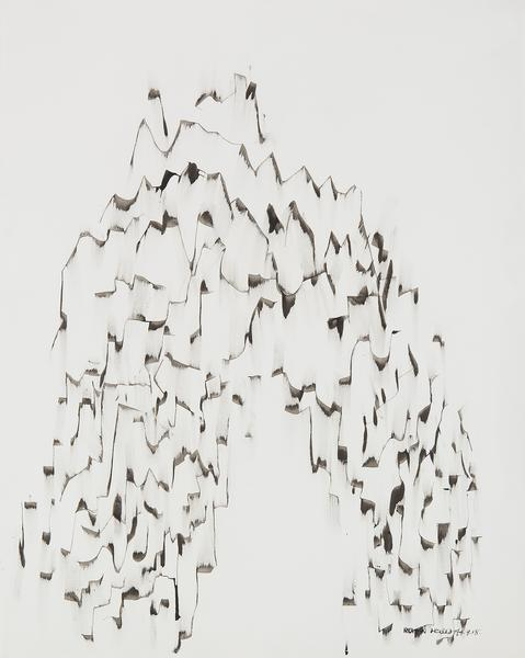 """Untitled, 1974 ink on paper 29"""" x 23 1/8""""..."""