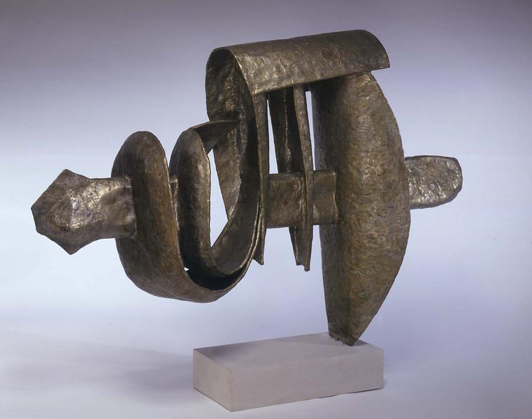 Casanova, c.1969 bronze on Monel metal 33 1/2&quot...