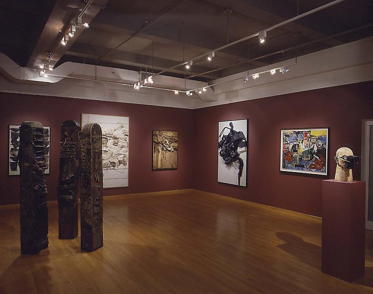 Installation Views - Nancy Grossman: Loud Whispers, Four Decades of Assemblage, Collage, and Sculpture - November 2, 2000 – January 13, 2001 - Exhibitions